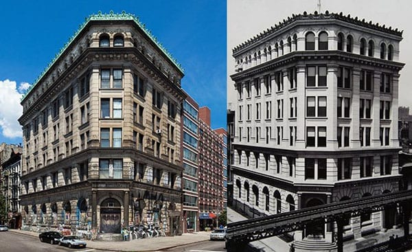 Banking a building – 190 Bowery sold to Aby Rosen by Jay Maisel for £34.8 million ($52 million or €47.9 million)