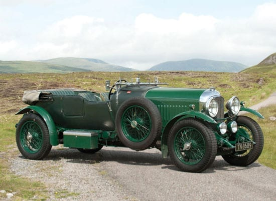 1929 Bentley 4½ litre open tourer by Vanden Plas