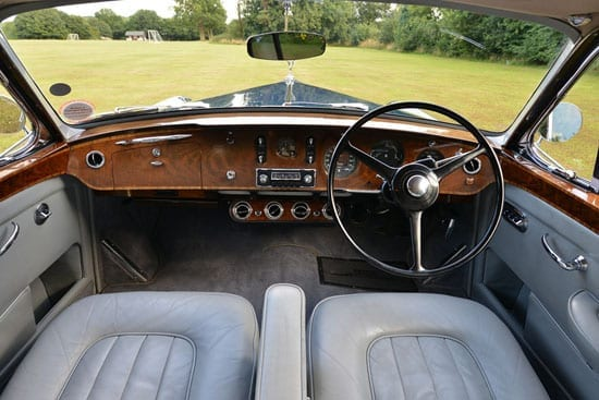 "The interior has a ""gentlemen's club feel"" to it according to the selling dealers"