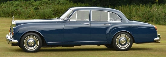 1965 Rolls Royce Silver Cloud III Flying Spur side view