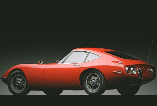 The 1967 Toyota 2000GT to be offered by RM Auctions on 21st November in New York
