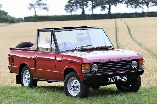 1973 Range Rover Convertible Suffix B - For sale at Silverstone Auctions - NEC Classic Motor Show Sale takes place on Saturday 14th and Sunday 15th November 2015 at the NEC, Birmingham - £35,000 to £40,000