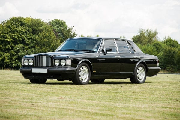 The 1995 Bentley Turbo 'S' that formerly belonged to the Brunei royal household