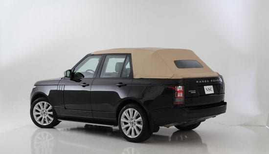 2013 Range Rover convertible by Newport Convertible Engineering with roof up