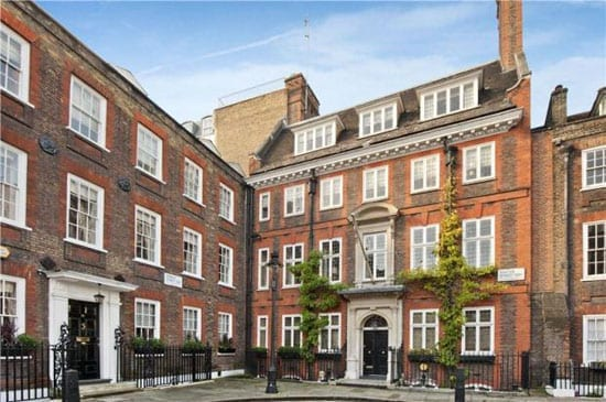 £11 million No. 8 Barton Street, Westminster, London, SW1P 3NE stands within the Houses of Parliament Division Bell and would be an ideal residence for a wealthy politician