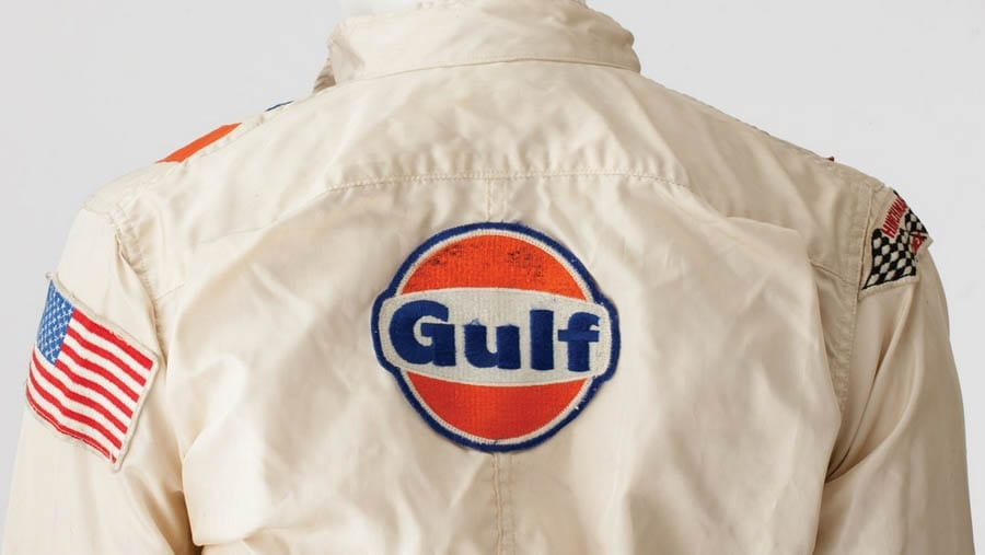 A Lot for Le Mans – Racing suit and helmet worn by Steve McQueen in 'Le Mans' to be sold for the staggering sum of £380,000 ($400,000 to $500,000, €344,000 to €430,000 or درهم1.5 million to درهم1.8 million) by RM Sotheby's in New York on 6th December 2017.