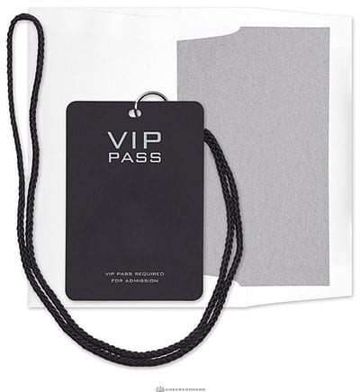 A VIP pass doesn't mean much these days
