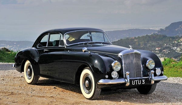 A modern magic carpet – 1954 Bentley R-Type Continental fastback saloon by H. J. Mulliner to be sold by R. M. Sotheby's – 14th May 2016 – Monaco – £593,000 to £752,000 ($854,000 to $1.08 million or €750,000 to €950,000) estimate – Current owner Wally Yachts founder Luca Bassani Antivari