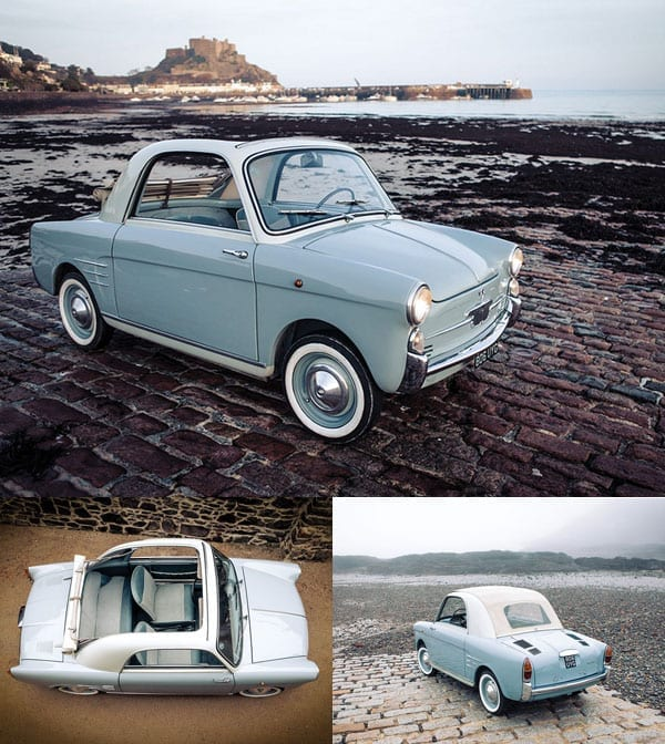 A rich man's Fiat – 1958 Autobianchi Bianchina Transformabile Series I – Ravioli – RM Sotheby's Monaco sale 2016 – 14th May - £17,400 to £22,100 ($25,000 to $31,900 or €22,000 to €28,000)