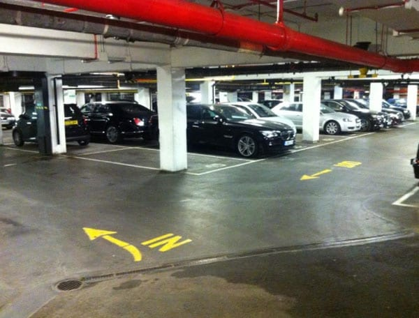 Parked – Knightsbridge garage offered for the same price as an 18th century house on Orkney