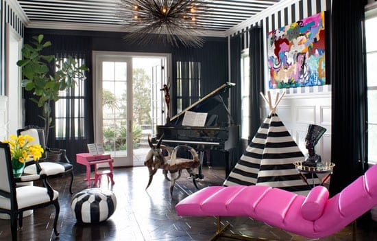 """And this room is about as far from a """"vision in pink"""" as is conceivable"""