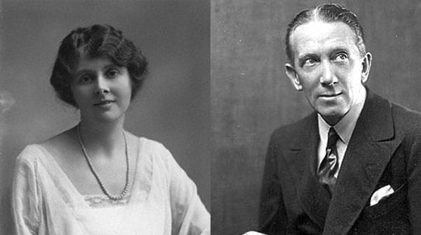 Actor manager Sir Gerald du Maurier (1873 - 1934) and his actress wife Muriel Beaumont (1881 - 1957)