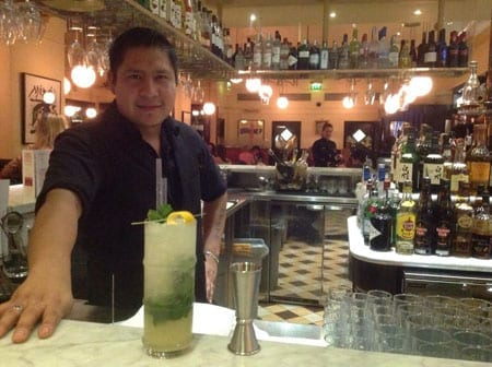 Alejandro Flores and a La Brasserie Juelp