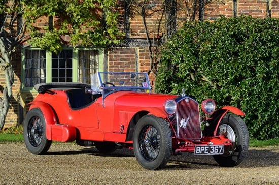 This 1934 Alfa Romeo 8C-2300 'Le Mans' tourer will be sold by Bonhams on 12th July 2013