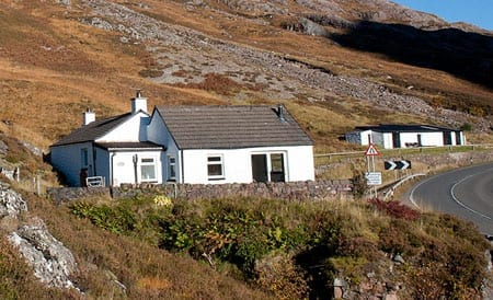 Allt-Na-Reigh, Glencoe, Ballachulish, Scotland, PH49 4HX: The remote property is more than a mile from any of its neighbours