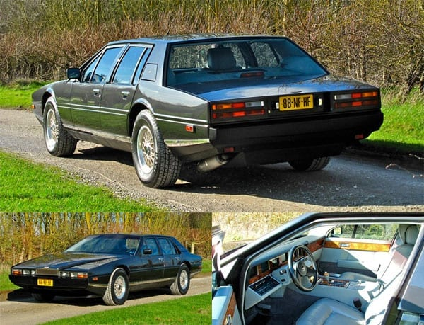 The Restoration Sale – Silverstone Auctions, NEC, Birmingham, Sunday 6th March 2016 – The Lady in the Van Bedford – Aston Martin Lagonda – Jaguar Sovereign – Land Rover Series I