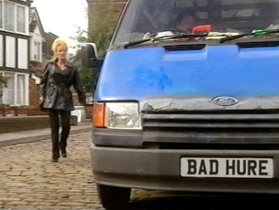 Liz McDonald's having a bad hair day on 'Coronation Street' - BAD HURE (courtesy of @PrayForPatrick)