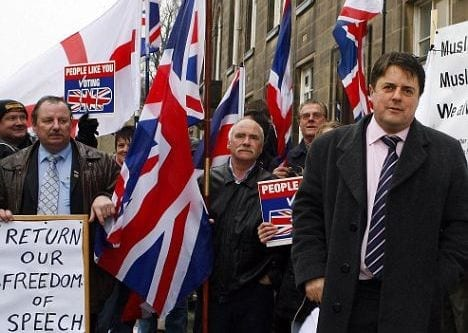 The British National Party stands for nothing but bigotry and hatred