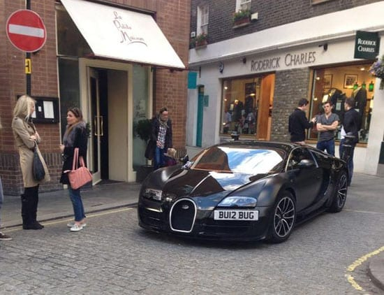 Someone who owns a Bugatti and wants everyone to know it (Courtesy of Gabriele Girardi)