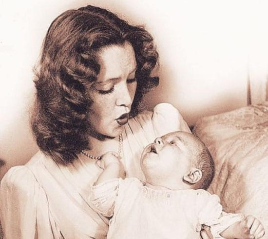 Barbara Daly Baekeland with her son Antony