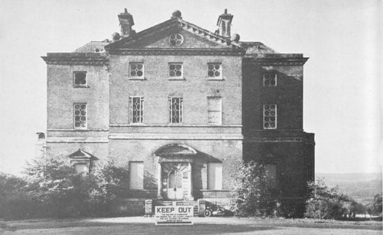 Barlaston Hall was a wreck that nearly collapsed prior to refurbishment