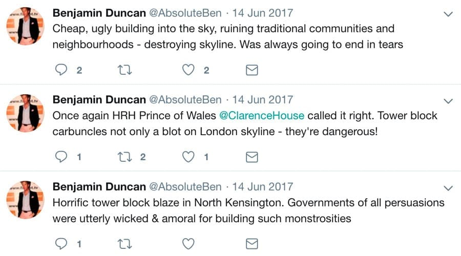 Brexit Bozo Ben – Granny escort Ben Duncan vs. Remainer Femi Oluwole – Former granny escort boy and 'Big Brother' contestant Ben Duncan makes an utter twerp of himself yet again; this supporter of the far right Traditional Britain Group is nothing but a berk.