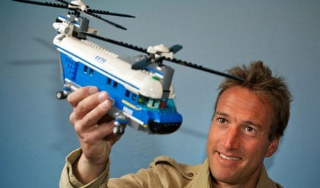 The affable television presenter Ben Fogle is also an ambassador for Lego