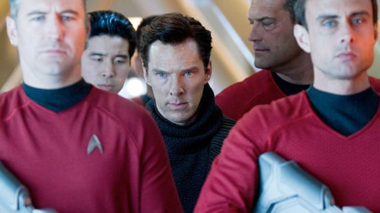"Benedict Cumberbatch is one of the stars of ""Star Trek Into Darkness"""