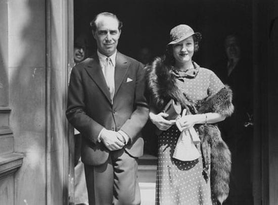Benn Levy (1900 – 1973) and his wife Constance Cummings CBE (1910 – 2005)