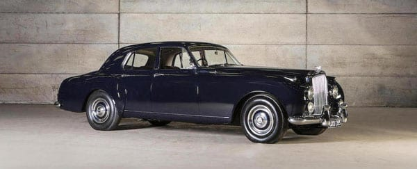 An ace Bentley - 1958 Bentley S-Series Continental Flying Spur saloon