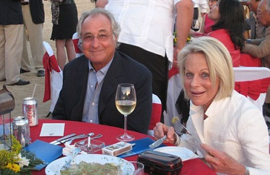 Bernie and Ruth Madoff in happier times