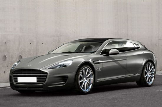 The front of the 2013 Bertone Aston Martin Rapide Jet 2+2