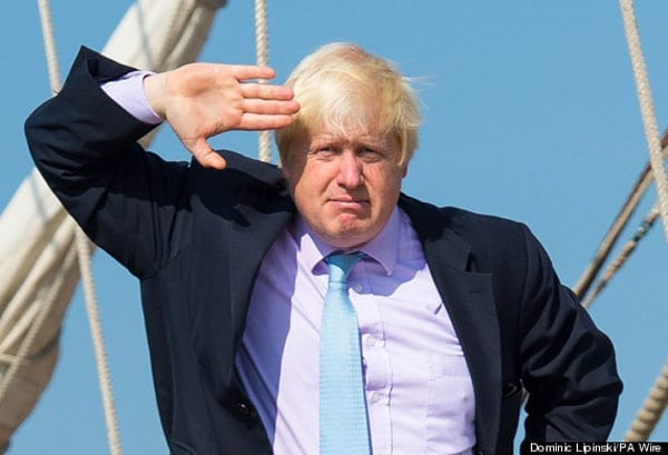 Mayor of London and Propsective Parliamentary Candidate Boris Johnson is right to salute Conservative MPs and MEPs sticking with the Tories