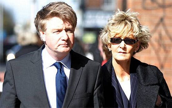 "Brian O'Donnell with his wife Dr Mary ""Pat"" Patricia O'Donnell"