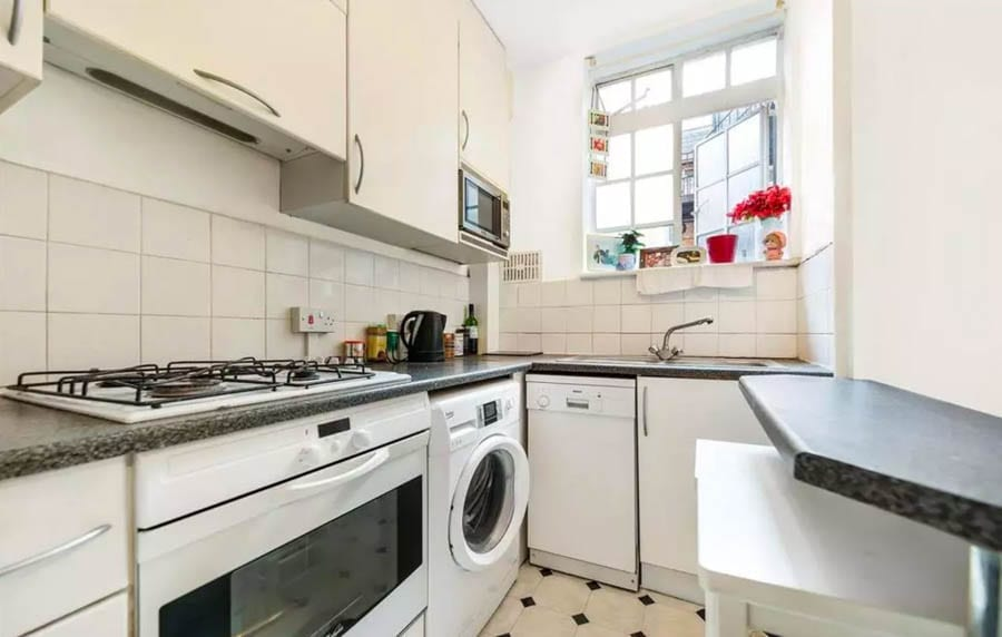 Britten Street, Chelsea, London, SW3 apartment for sale for just £140,000; there is, of course, a catch.