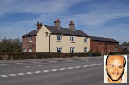 Burnt House Farm Chester Road Over Tabley Knutsford Cheshire WA16 0HN with Brian Waters inset