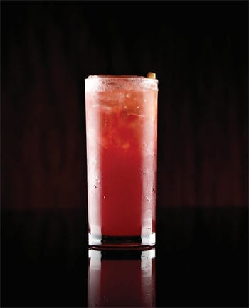 Cadogan Sling cocktail