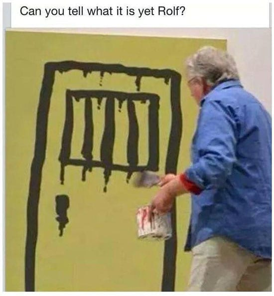 Can you tell what it is yet Rolf?