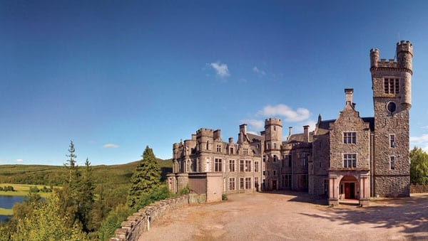 Carbisdale Castle is a vast Scottish Baronial building in need of a saviour with deep pockets