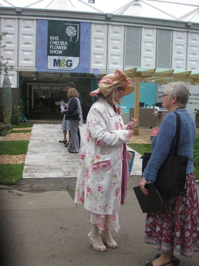 A Cath Kidston devotee: a lady whose plainly on a schedule