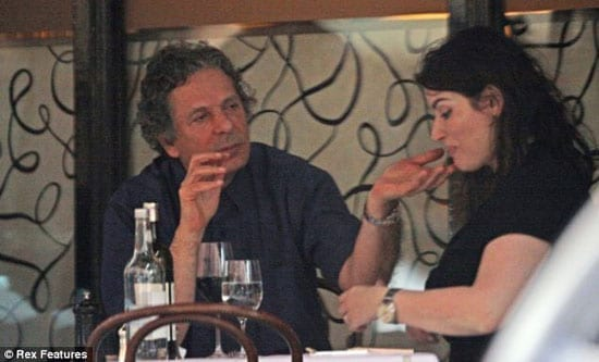 Charles Saatchi and Nigella Lawson at Scott's