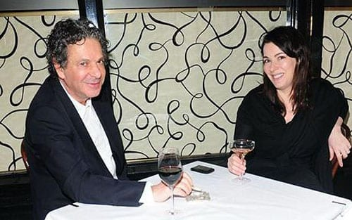 Charles Saatchi and Nigella Lawson at Scott's in happier times