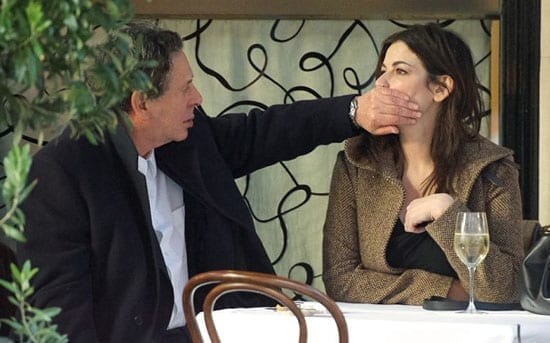 Charles Saatchi put his hand over his wife Nigella Lawson's mouth at Scott's