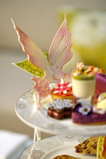 Chocolate butterflies are amongst the treats on offer