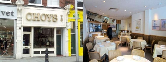 Choys, 172 Kings Road, Chelsea, London, SW3 4UP