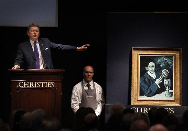 Upping the arts – Christie's Christie's report staggering half-year sales of £2.9 billion, July 2015