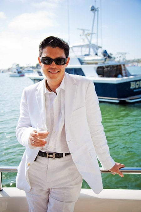 Realtor and television personality Christophe Choo