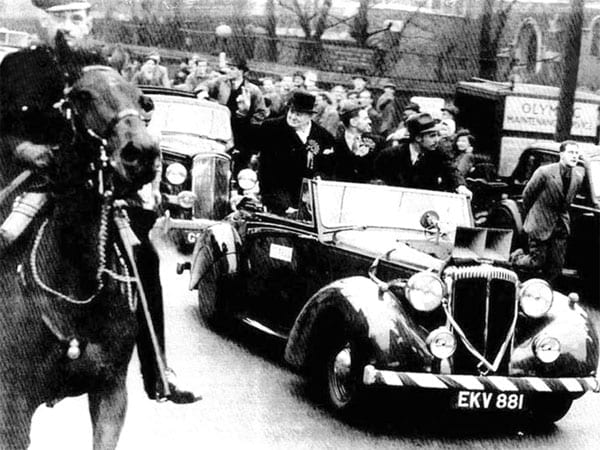 Churchill used the car on at least two occasions