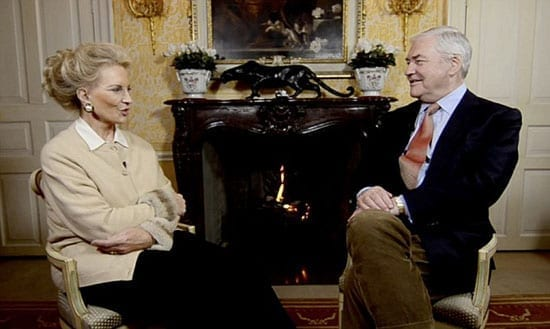 Conrad Black interviewed Princess Michael of Kent for some 41 minutes