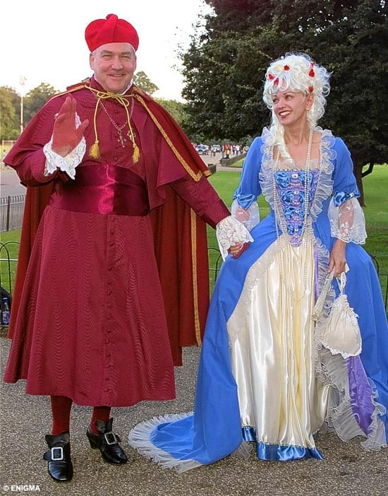 Conrard Black and his wife Barbara Amiel are now little more than pantomime figures